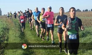Participation aux 18 kms du trail de Préaux avec Oxygène Belbeuf