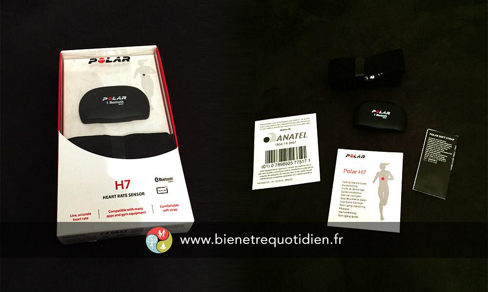 Émetteur de fréquence cardiaque Polar H7 Bluetooth