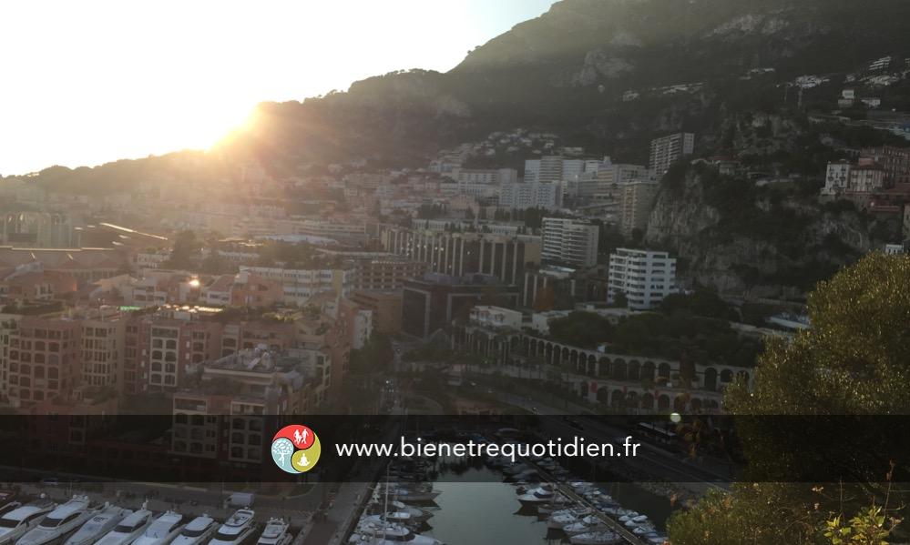 Vue du palais princier de Monaco