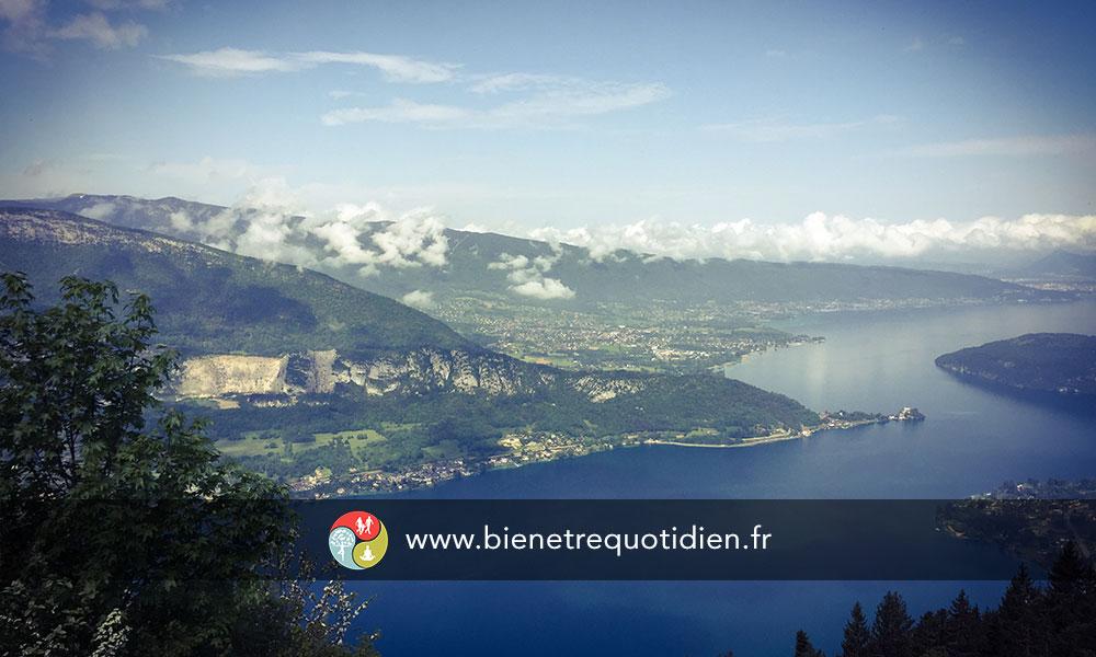 Sur les chemins d'Annecy