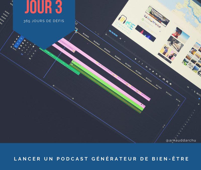 Jour 3 – Lancer mon Podcast Génération Bien-être
