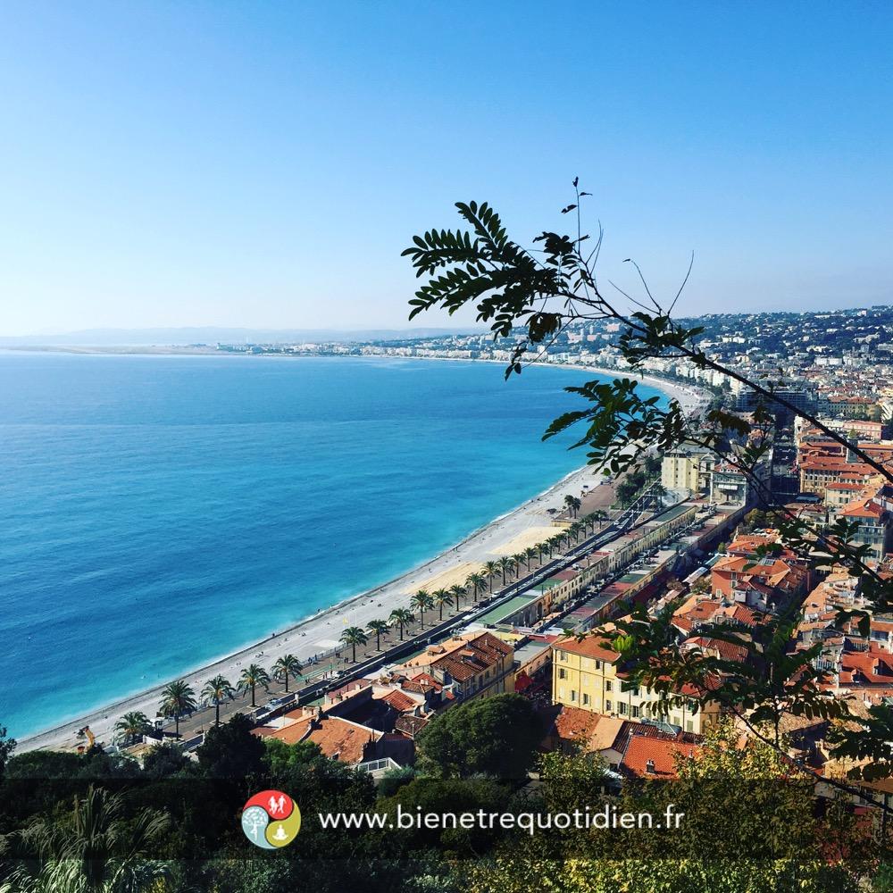 Vue de la Marina Baie des anges à Nice