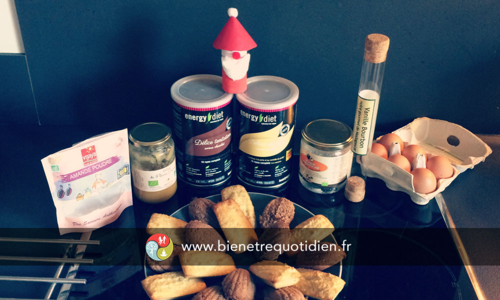 photo de la recette gluten free des financiers