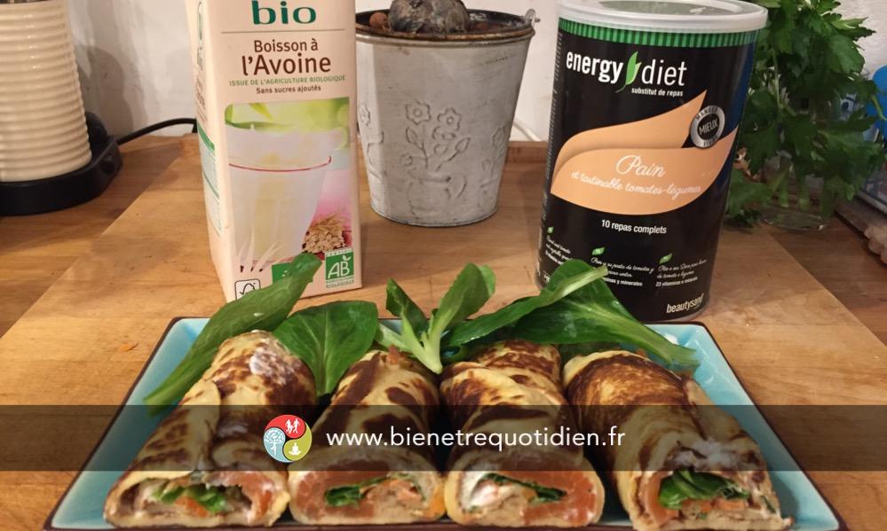 recette trap energy diet saumon bien etre quotidien